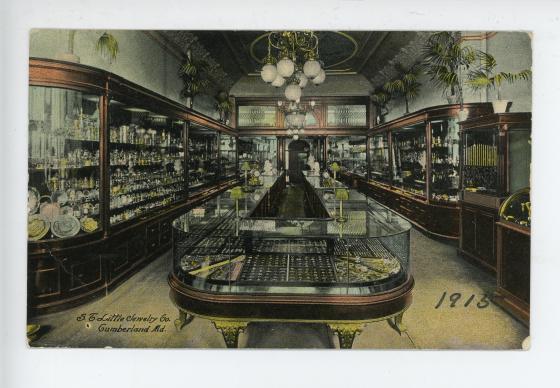 S.T. Little Jewelry Co. postcard