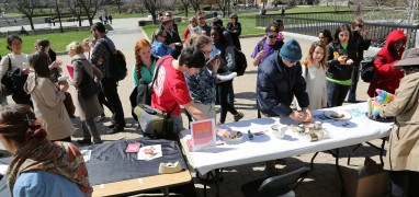 Edible Book Fair: Hornbake Plaza