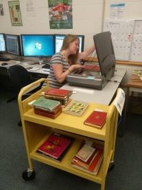 Rachel digitizing_AliceinWonderland